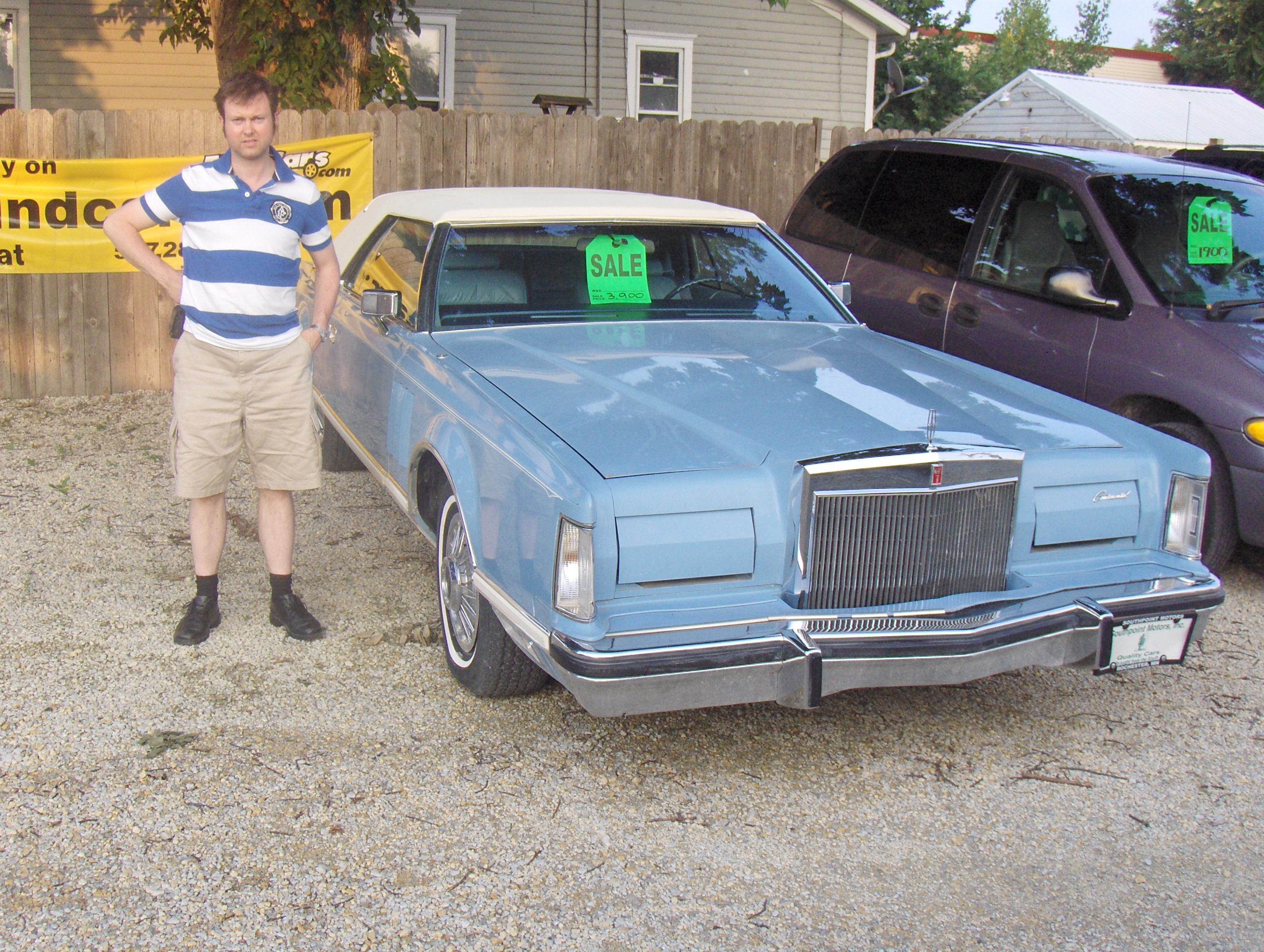 Lincoln Continental Mark V Yngve S Tre Sin Blogg