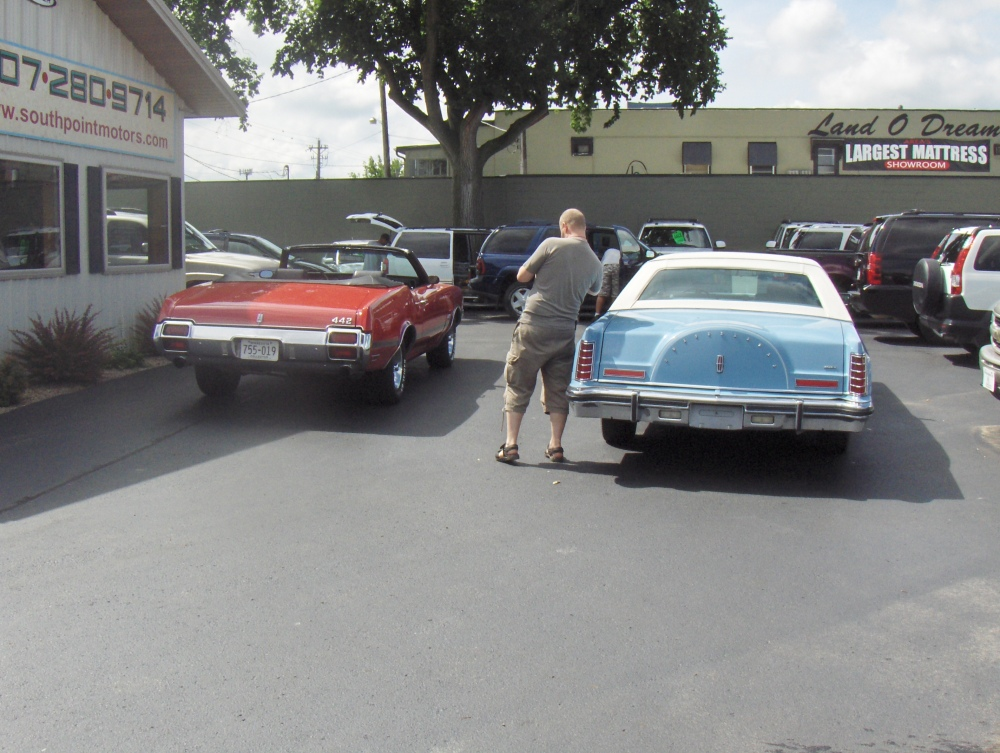 Lincoln Continental Mark V (5/6)