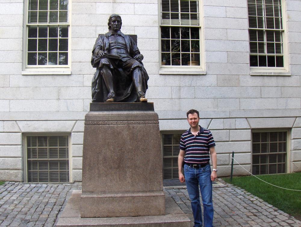 Thank you, Harvard! (5/6)