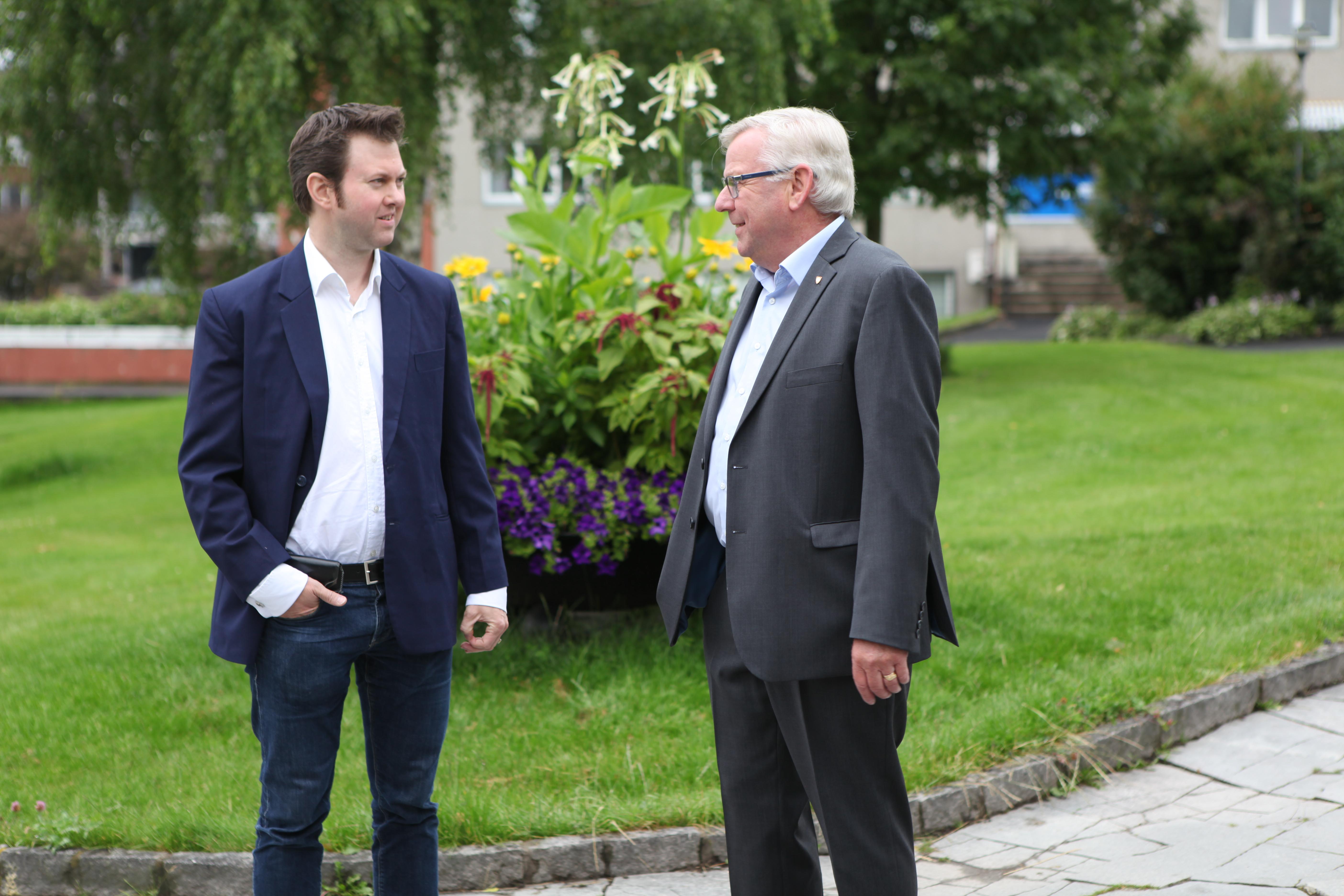 Yngve og Erik august 2015